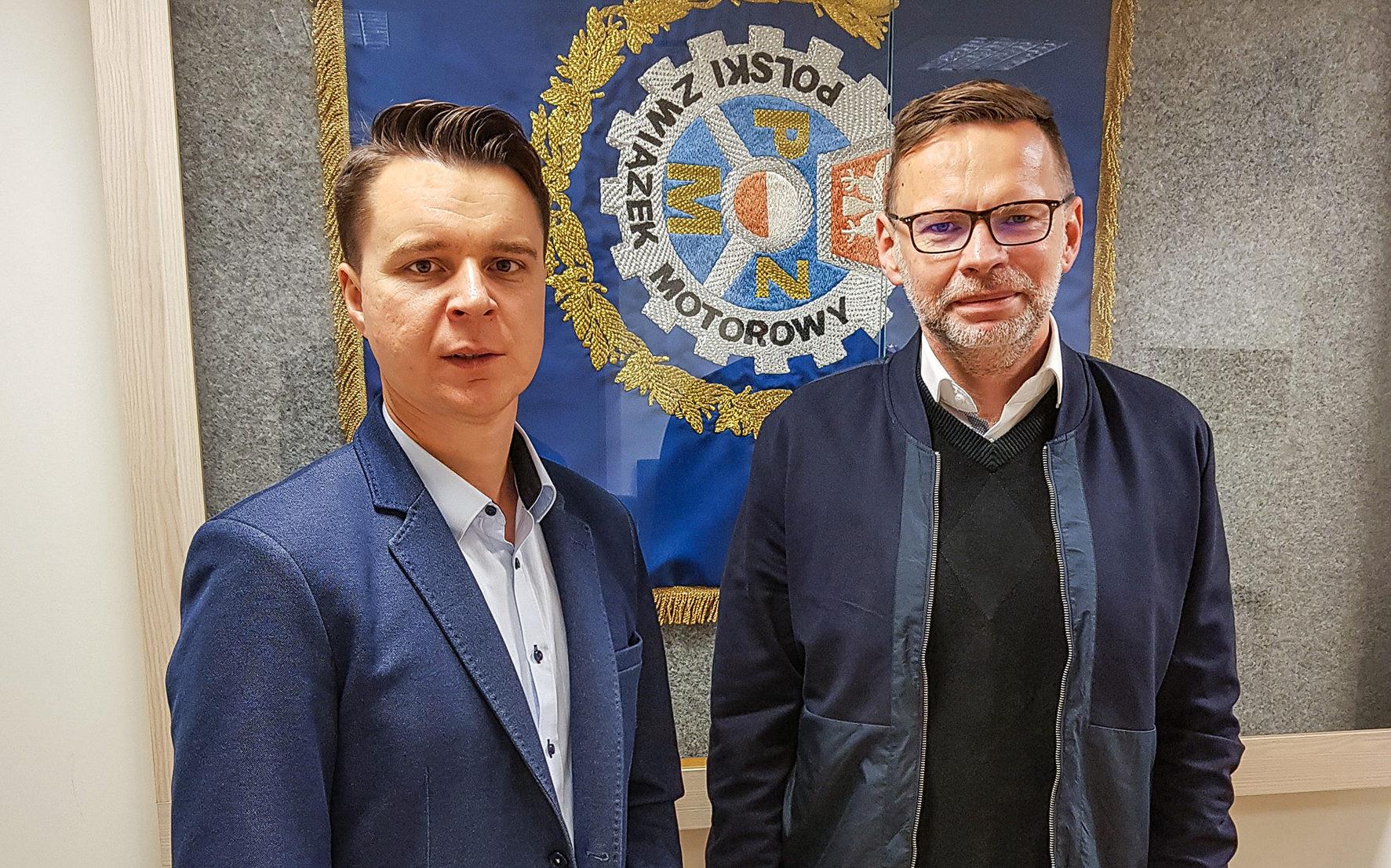 Spotkanie z szefem polskiego żużla [Zdjęcie]