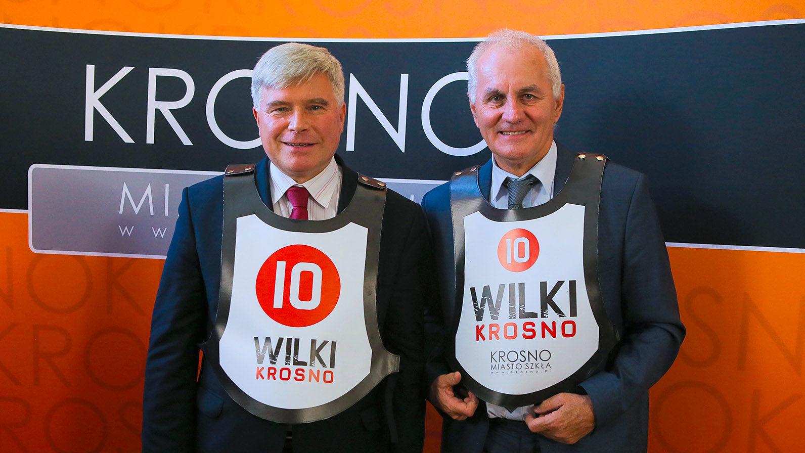 – Razem osiągniemy upragniony cel – prezydent Piotr Przytocki o idei Wilków Krosno [Wideo]