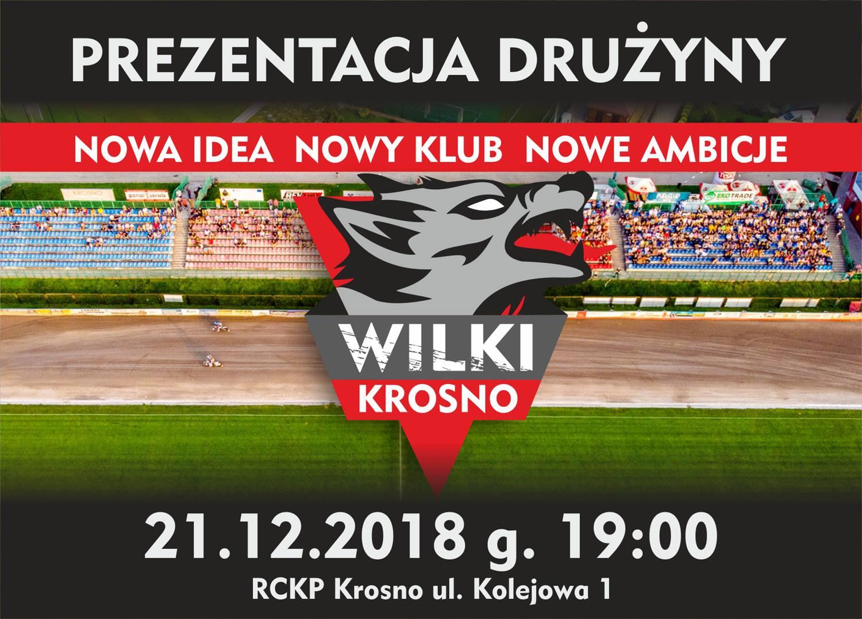 Żużlowcy, karnety, gadżety i… niespodzianki! Prezentacja Wilków 21 grudnia o godz. 19. w RCKP!