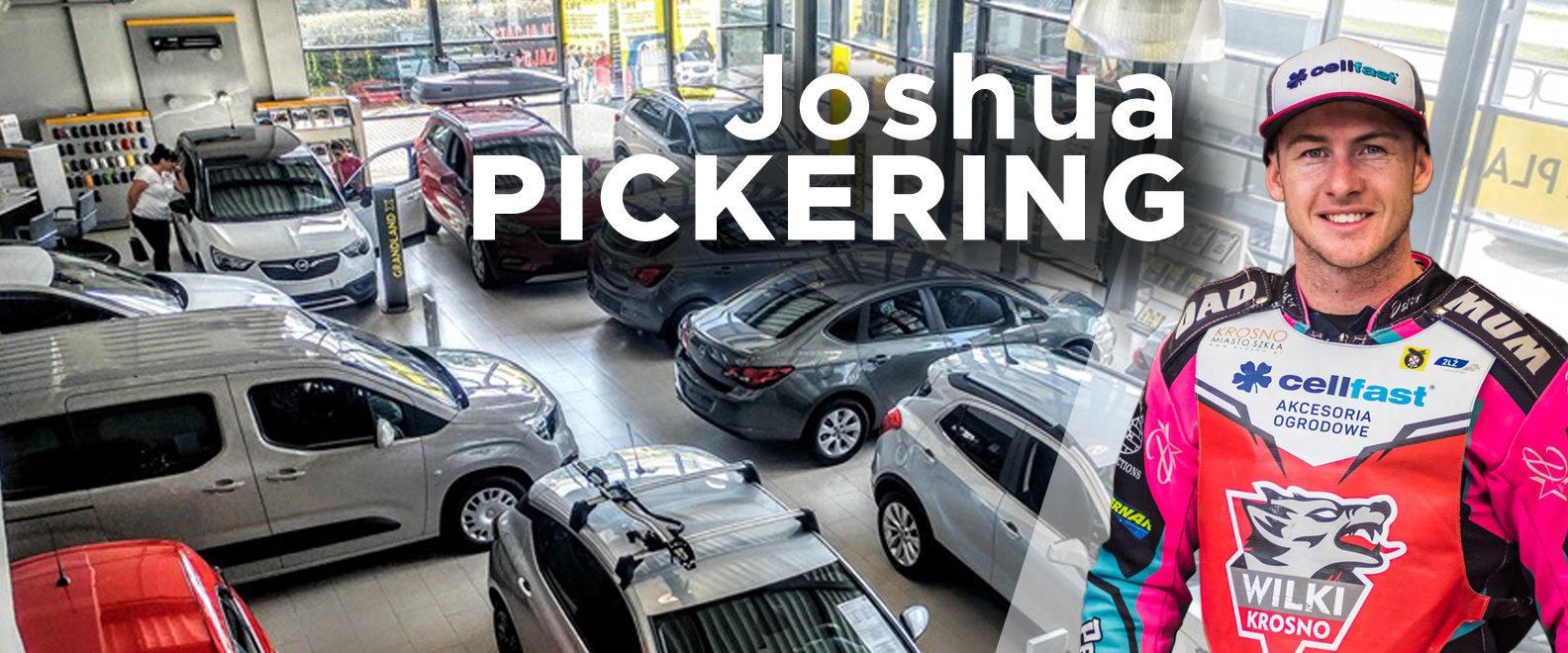Joshua Pickering w salonie Glob Cars w Krośnie! Już w środę 2 października!