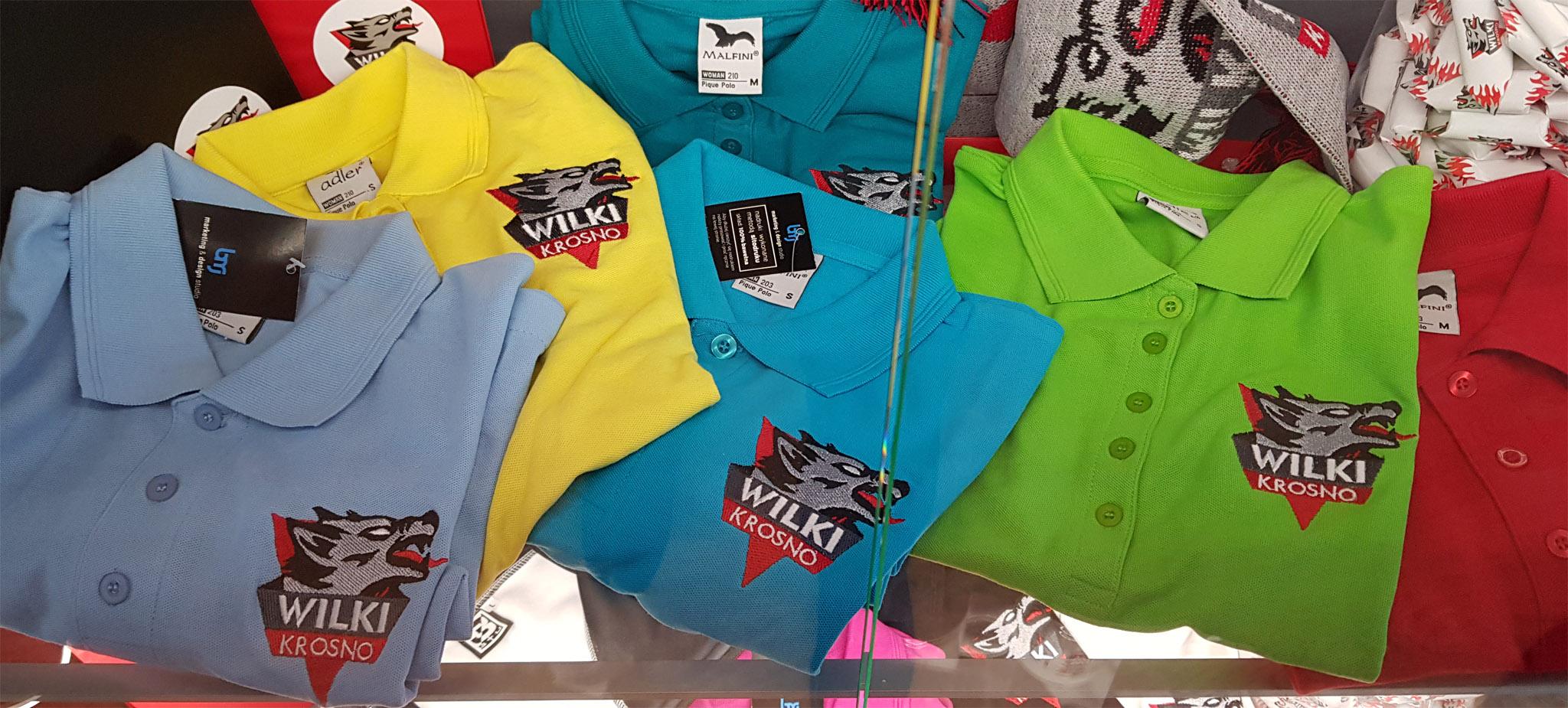 Wilcze koszulki polo w kobiecych krojach!