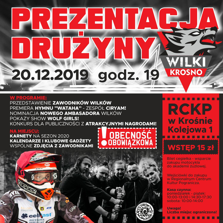 Takiej prezentacji jeszcze w Krośnie nie było! 20 grudnia widzimy się w RCKP
