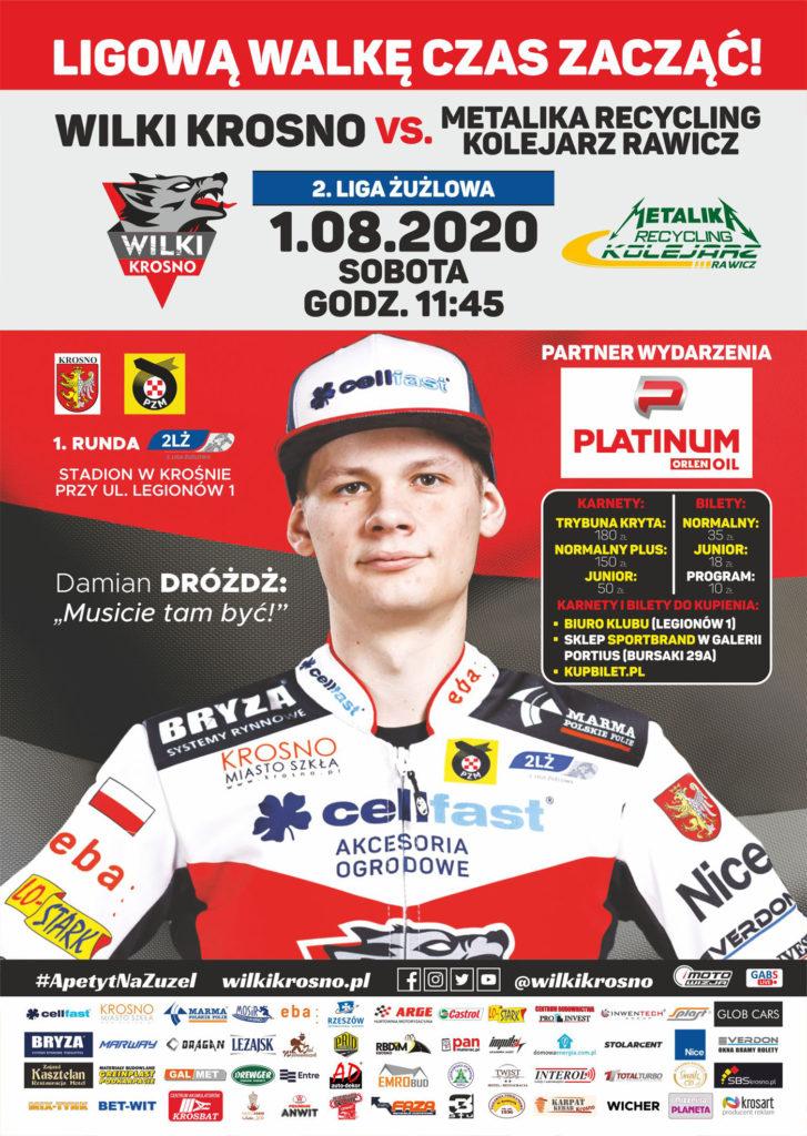Krosno Rawicz plakat 2020