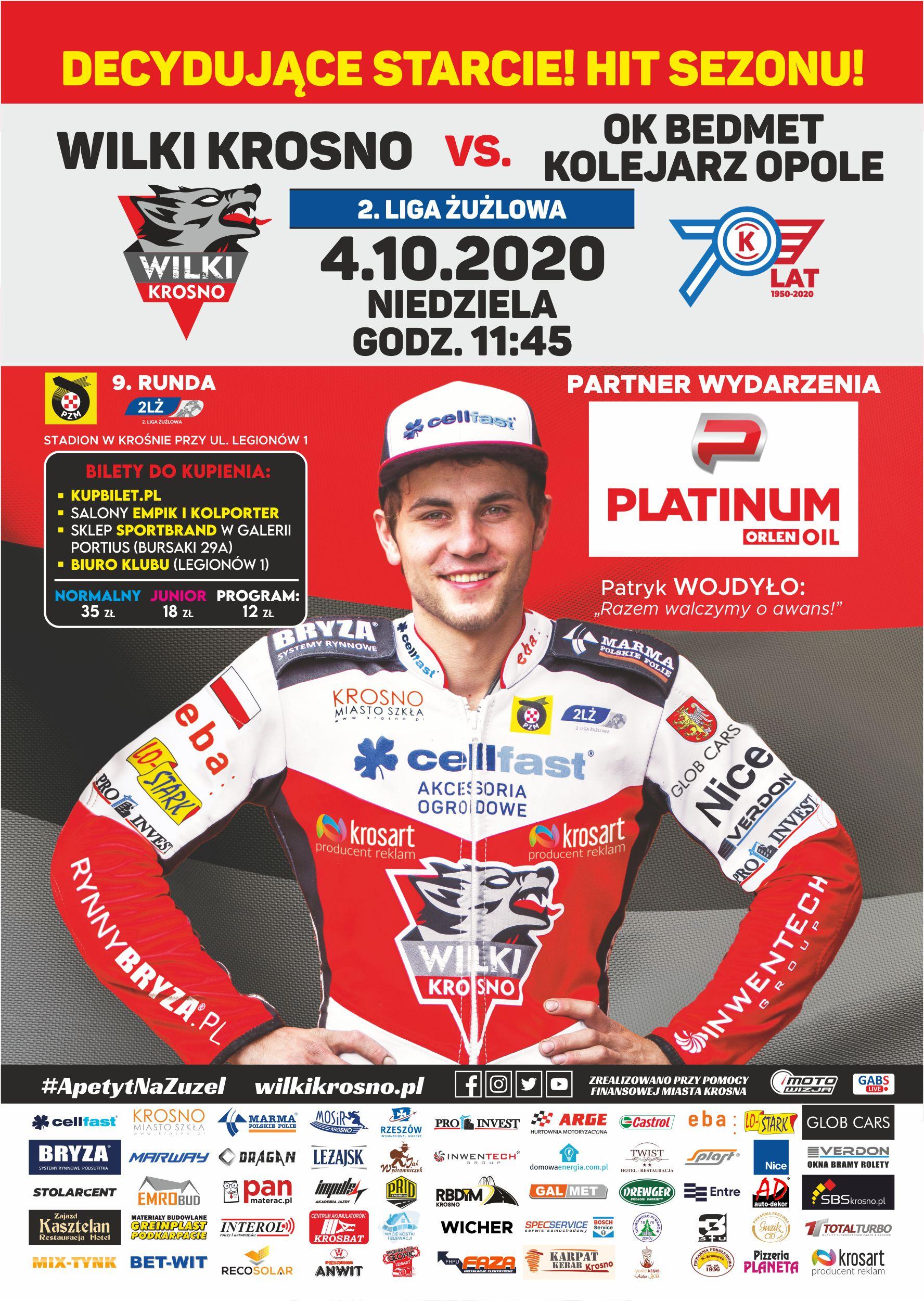 Plakat Krosno Opole 2020